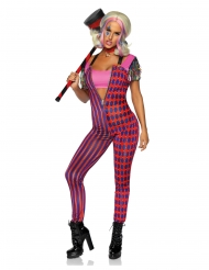 Costume deluxe ragazza folle per donna