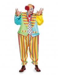 Costume clown magic circus per uomo