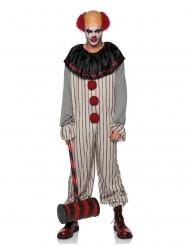 Costume da clown spaventoso per uomo