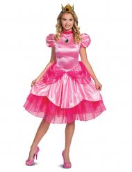 Costume deluxe Principessa Peach™ Nintendo™ per donna