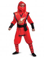 Costume LEGACY deluxe Kai Ninjago Lego™ bambino