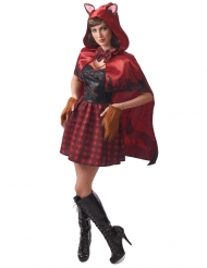 Costume Cappuccetto Rosso lupo mannaro donna