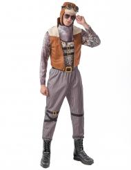 Costume steampunk aviatore uomo