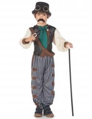 Costume steampunk dandy bambino