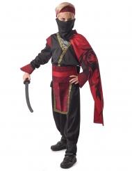 Costume Yakuza rosso bambino