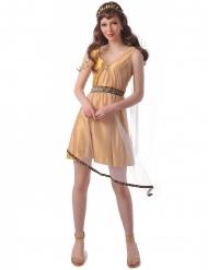 Costume romana oro donna