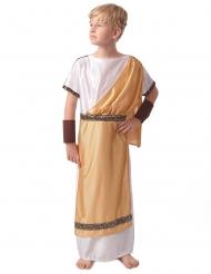 Costume romano oro bambino