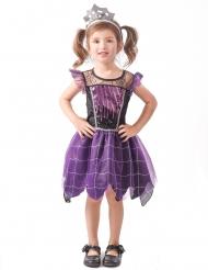 Costume streghetta viola bambina