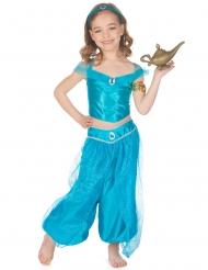 Costume principessa orientale blu bambina