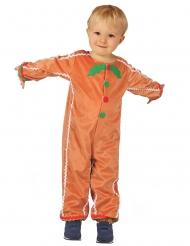 Costume biscotto di zenzero bambino