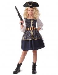 Costume da pirata chic per bambina