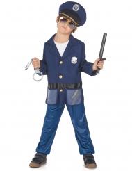 Costume con giacca poliziotto bambino