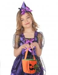 Borsa Halloween zucca spaventosa