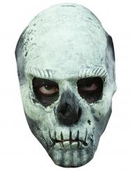 Maschera scheletro fosforescente adulto