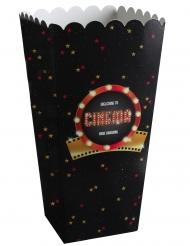 8 Scatole da popcorn in cartone Hollywood