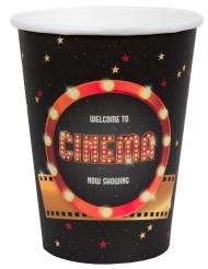 10 Bicchieri in cartone Hollywood