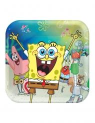 8 Piatti in cartone SpongeBob™