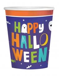 16 Bicchieri in cartone Halloween family 250 ml