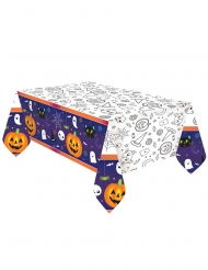 Tovaglia in carta Halloween Friends 1,2 x 1,8 m