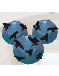 5 Lanterne con corvi