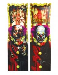 1 Pannello lenticolare Creepy Clown 94 x 30 cm
