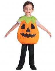 Costume grembiule zucca bambino