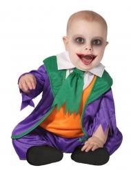 Costume piccolo clown pazzo bebè