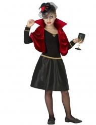 Costume vampiro glamour bambina