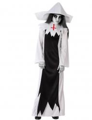 Costume da religiosa zombie bambina