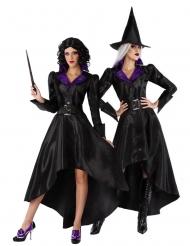 Costume da strega con cappello retrò donna