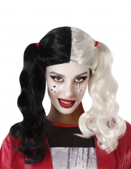 Parrucca bicolore assassina donna