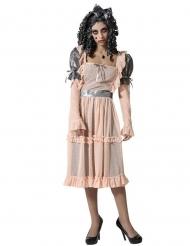 Costume bambola di porcellana donna