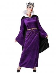 Costume da regina cattiva viola per donna