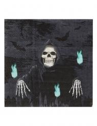 20 tovaglioli in carta morte 17 x 17 cm