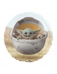 Palloncino alluminio Baby Yoda The Mandalorian™ 43 cm