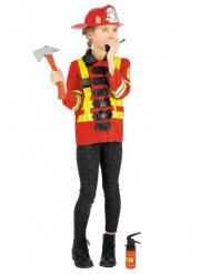Costume da pompiere con accessori per bambini