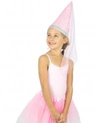 Cappello da principessa deluxe per bambina