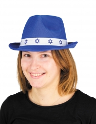 Cappello Bar Mitzvah blu adulto
