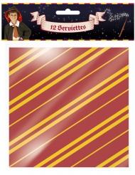 12 Tovaglioli in carta mago
