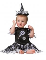 Costume strega caramella per bebé