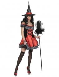 Costume da strega ballerina per donna
