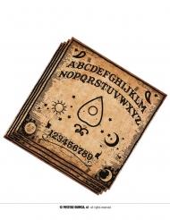 20 Tovaglioli in carta Ouija 33 cm