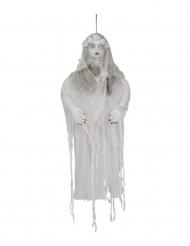 Decorazione luminosa donna fantasma 120 cm
