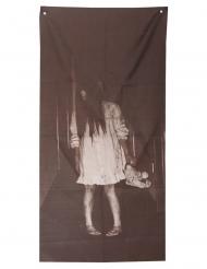 Decorazione bambina posseduta 75 x 160 cm