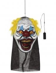 Decorazione testa di clown gigante