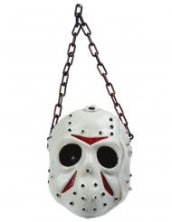 Decorazione maschera da hockey 36 cm