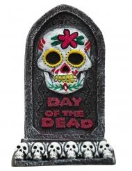 Lapide decorativa dia de los muertos 13 x 8 cm