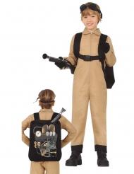 Costume da cercatore di fantasmi con zaino bambino