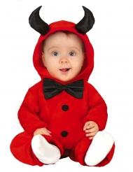 Costume da demone con papillon bebè