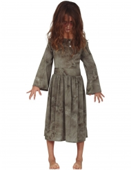Costume fantasma grigio bambina